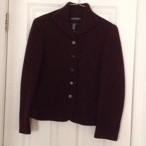Chocolate Brown Jacket! Just in time for fall!